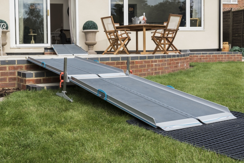 portable wheelchair ramps fot high steps