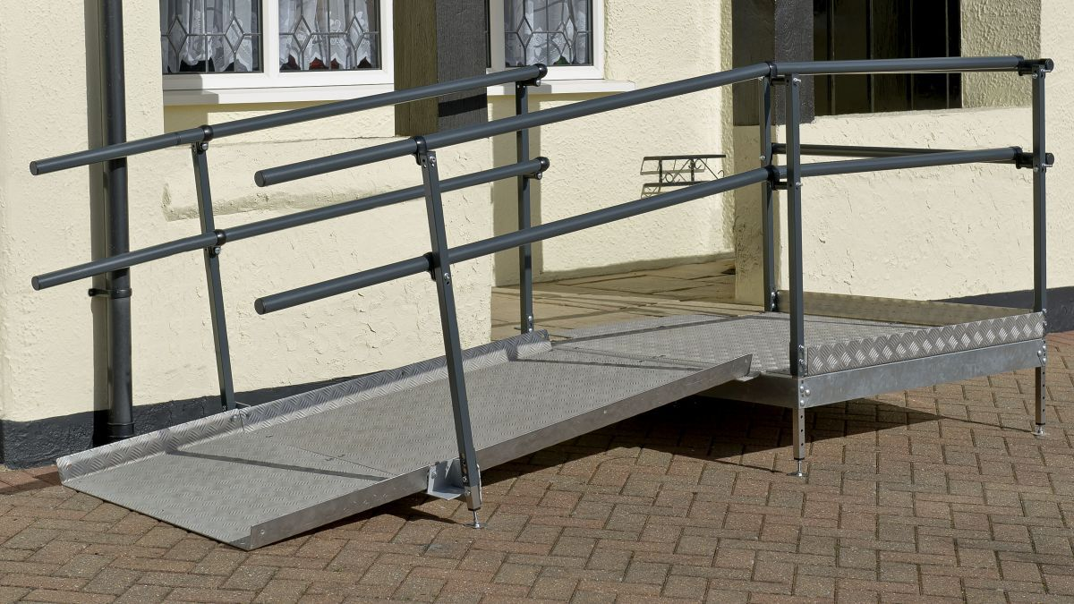 Wheelchair Ramp Installation Down