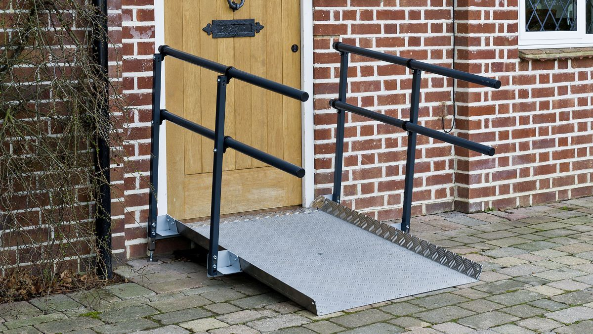 Wheelchair Ramp Installers Clackmannanshire
