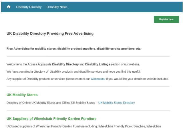 Disability Directory