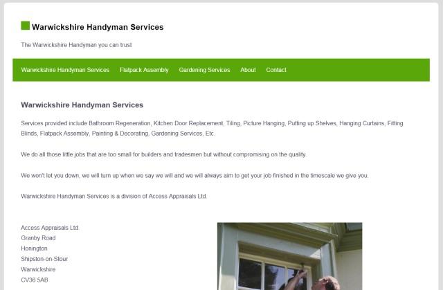Warwickshire Handyman Services